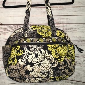 VERA BRADLEY Diaper Bag Paisley Quilted Cotton